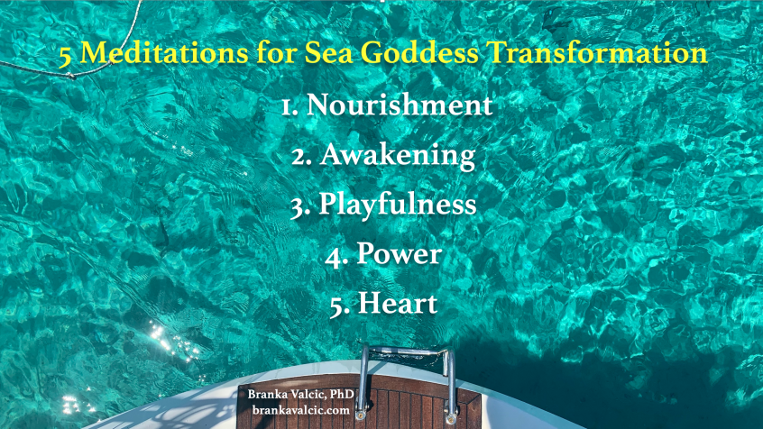5 Meditations for Sea Goddess Transformation Journey
