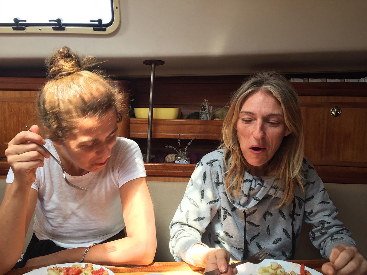 Sea Goddesses breakfast
