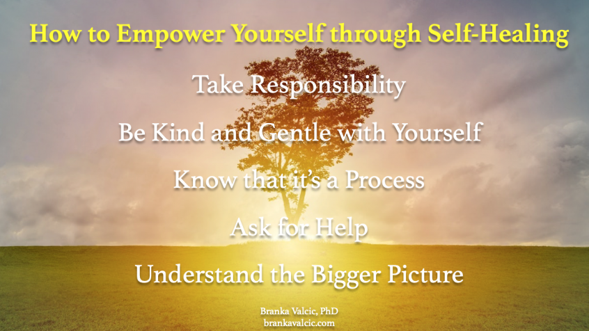 How to empower yourself through self-healing
